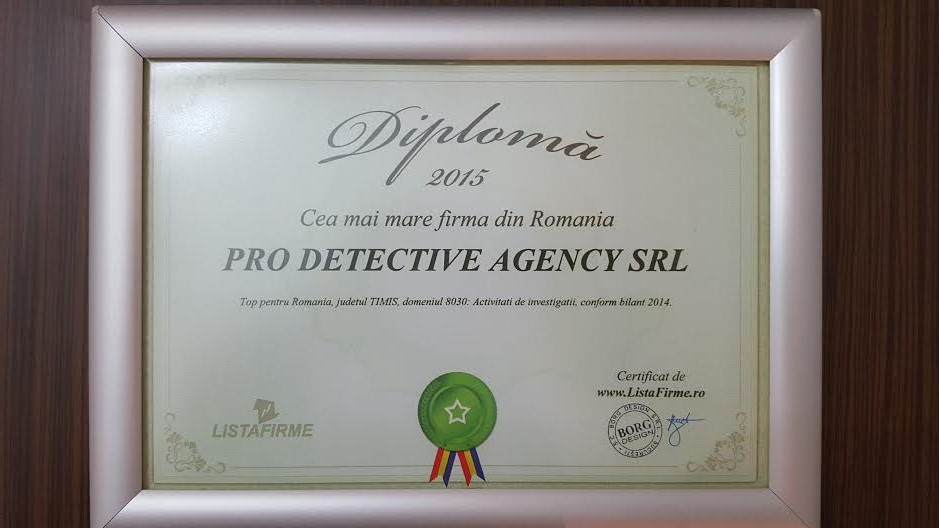 diploma prodetective 2015